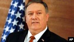 Госсекретарь США Майк Помпео в Американском университете в Каире. Египет. 10 января 2019 г.