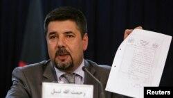 Ông Rahmatullah Nabil, tổng giám đốc cục An ninh Quốc gia Afghanistan (NSD)