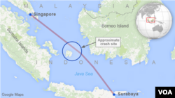 QZ8501 Crash Site