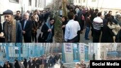 جریان رای دهی در حوزه های انتخاباتی ایران