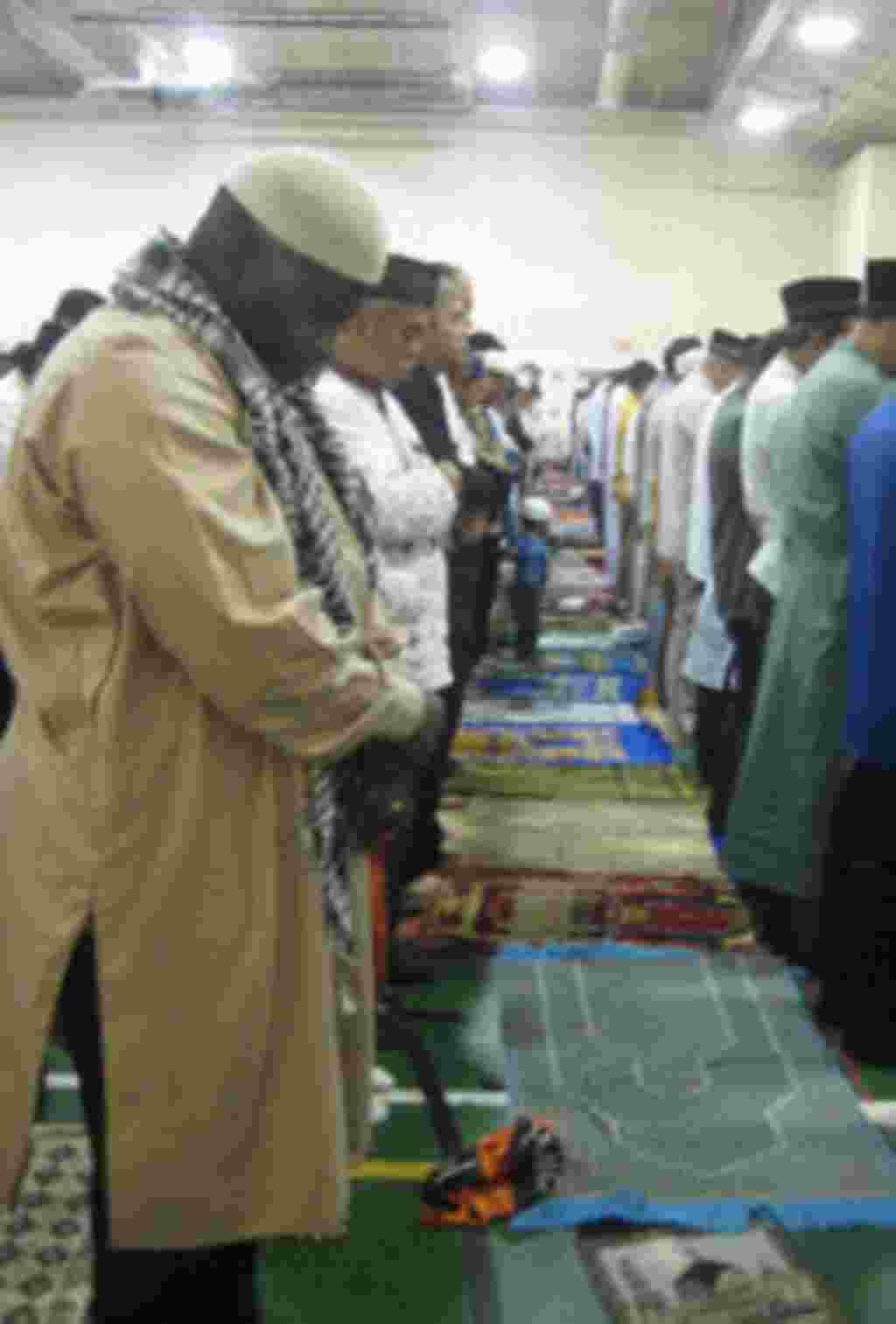Indonesians in America Eid Prayer Gaithersburg Maryland