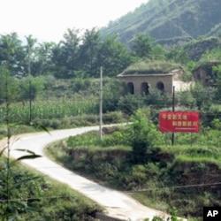 文安驿镇通往梁家河的小路
