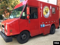 Food Truck Sate Truck milik warga Indonesia di Washington, DC (Dok: VOA)
