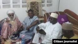Ministan Matasa da Wasannin Najeriya Solomon Dalung yayinda ya jagoranci tawagar Kiristoci zuwa bude baki a gidan Shaikh Dahiru Bauchi