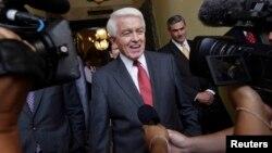 El presidente de la Cámara de Comercio de EE.UU., Thomas J. Donohue, es un viejo partidario de levantar el embargo a Cuba.