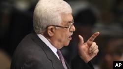 巴勒斯坦民族权力机构主席阿巴斯6月27日在联合国大会上发言
