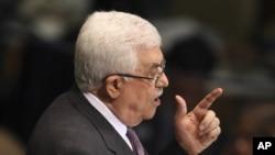 Palestinski predsednik Mahmud Abas na 67. zasedanju Generalne skupštine UN