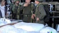 2011-10-15 粵語新聞: 哥倫比亞警方摧毀製毒實驗室