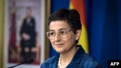 资料照片:西班牙外交大臣阿兰查·冈萨雷斯·拉亚。