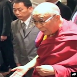 The Dalai Lama in New York on 19 May, 2010