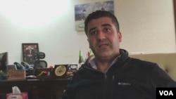 Polad Jangi, a top Kurdish counterterrorism official, talks with VOA.