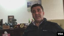 Polad Jangi, a top Kurdish counterterrorism official, talks with VOA.