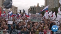 No Longer Apathetic, Russia's Youth Join Rallies