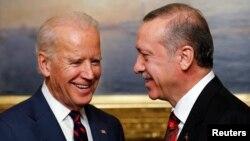 Віце-президент Джо Байден та президент Туреччини Таїп Реджеп Ердоган