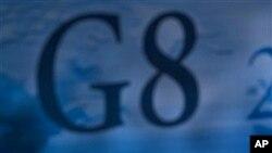 12일 주요 8개국, G8 외무장관 회담에서 힐러리 클린턴 국무장관.