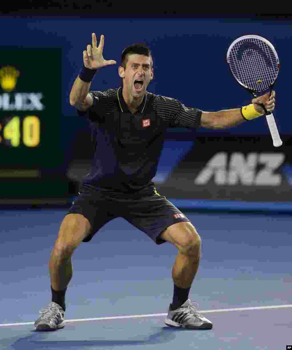 Treća uzastopna titula u Melburnu, radost čoveka koji je danas ušao u tenisku istoriju