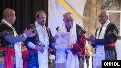 Dalai Lama in Shillong (source:dalailama.com)