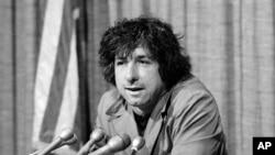 Nhà hoạt động phản chiến trong thời kỳ Chiến tranh Việt Nam Tom Hayden. (Ảnh tư liệu)