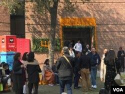 لاہور ادبی میلے میں لوگوں کی آمد 23 فروری 2020
