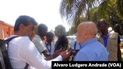Tony Reis, Chefe-Adjunto da Missão de Observadores da UE na Guiné-Bissau