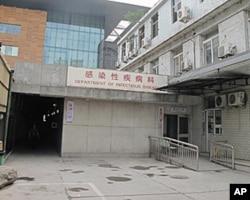 复兴医院的这片平房就是当年摆放六四死难者遗体的地方