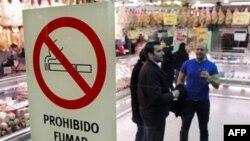 Spanja ndalon pirjen e duhanit në ambjente të mbyllura publike