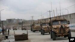 Dîmeneke hêzên NATO yên li Afganistanê