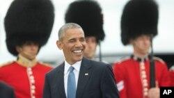 El presidente estadounidense, Barack Obama, llegó a Ottawa, Canadá, el miércoles, 29 de junio de 2016.