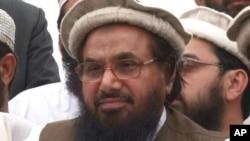 Hafiz Mohammad Saeed, former Arabic professor and founder of outlawed Pakistani militant group Lashkar-e-Taiba (undated file photo).