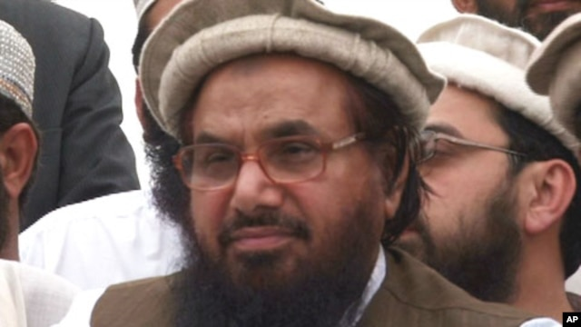 Hafiz Mohammad Saeed, former Arabic professor and founder of outlawed Pakistani militant group Lashkar-e-Taiba (undated file photo).