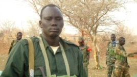 South Sudan rebel leader David Yau Yau in Jonglei state.