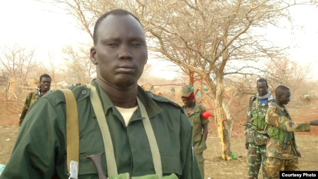 South Sudan rebel leader David Yau Yau, shown here in Jonglei state.