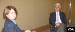 Haluk Dinçer, Amerika'nın Sesi'nden Melek Çağlar'ın sorularını yanıtladı.
