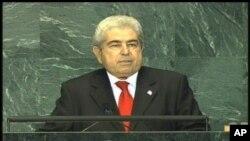 O Πρόεδρος της Κυπριακής Δημοκρατίας σε παλαιότερη ομιλία του στα ΗΕ.