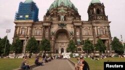 Берлинский кафедральный собор. Германия. 3 июня 2018 г.