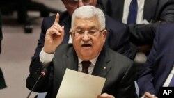Umuyobozi wa Palestine Mahmoud Abbas