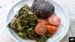 Food Deadline Grilled Kale