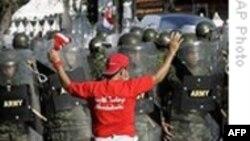 Tailandda etiraz məqsədi ilə insanlar qanlarını axıdıblar