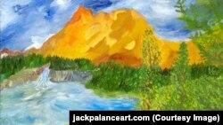 Картина Джека Паланса - The Rapids