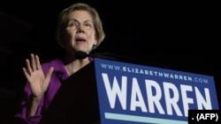 Senator Elizabeth Warren mundur dari pencalonan pada Pilpres 2020.