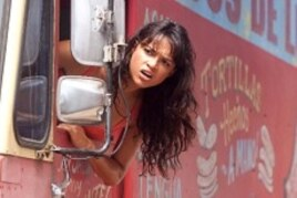 Michelle Rodriguez as Luz, a sexy taco-truck lady with a rebellious spirit and a revolutionary heart.
