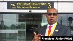 Saide Júnior, administrador da Aeroportos de Moçambique