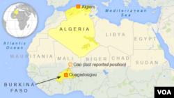 Air Algerie Last Known Position