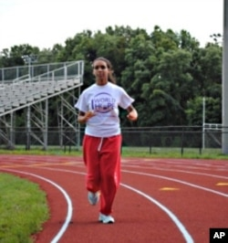 Maha Hassan,16, is not running with the cross country team this season, opting instead to focus on fasting.