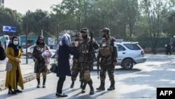 کابل میں خواتین کا احتجاج (30 ستمبر، 2021)