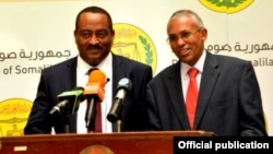 Ethiopian and Somaliland Ministers