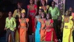 Ugandan Children Perform to Raise Awareness for Orphans