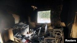 بن غازی میں امریکی قونصل خانہ حملے کے بعد