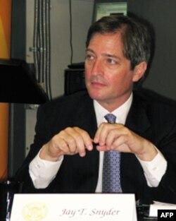 斯奈德,公共外交咨询委员会成员