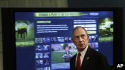 Walikota Michael Bloomberg kerap kali menyebut New York sebagai kota besar paling aman di dunia. (AP/Seth Wenig)